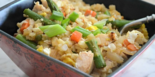 This Easy Cauliflower Fried Rice Recipe is Delicious
