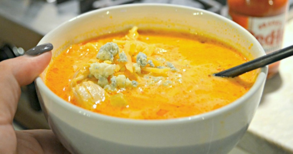 Keto Buffalo Chicken Soup Recipe