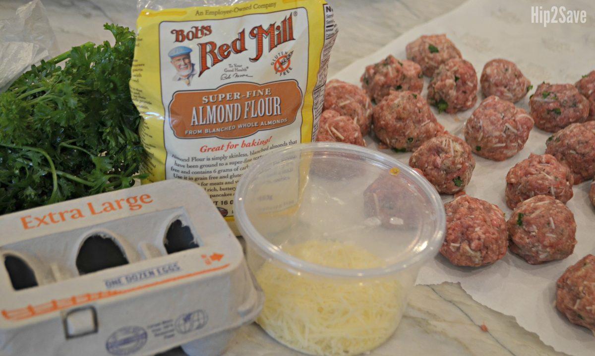 low carb meatballs recipe ingredients