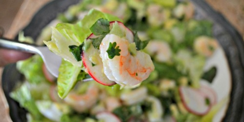 Take This Shrimp and Avocado Salad for Lunch!