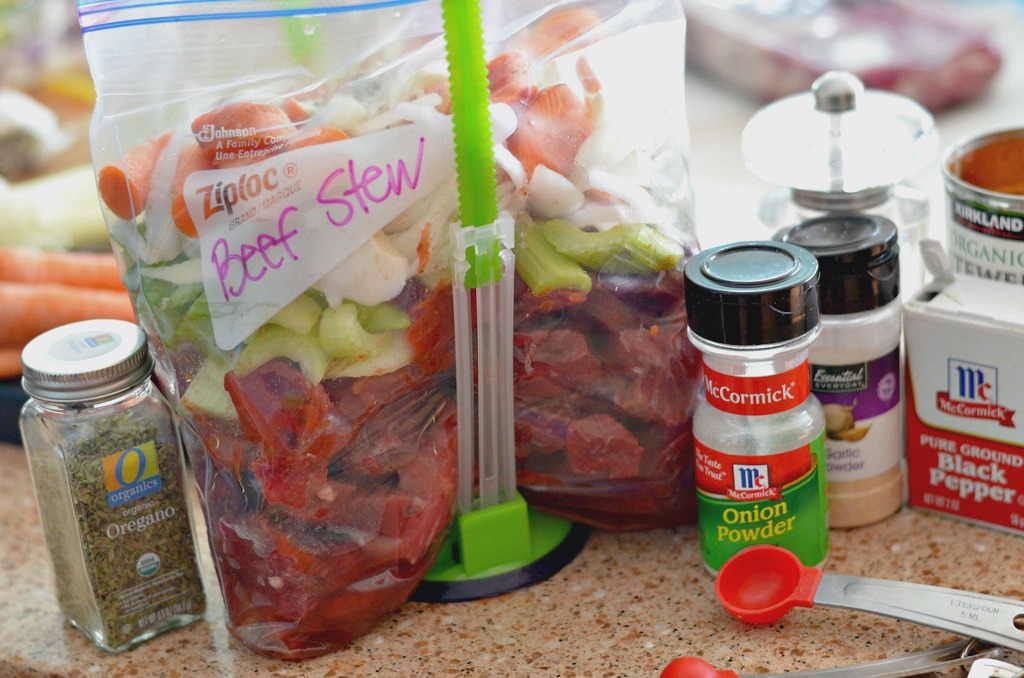 beef stew freezer meal