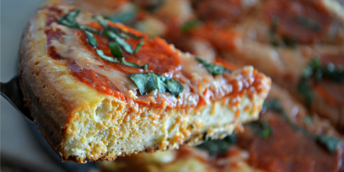 Deep Dish Keto Pizza Recipe