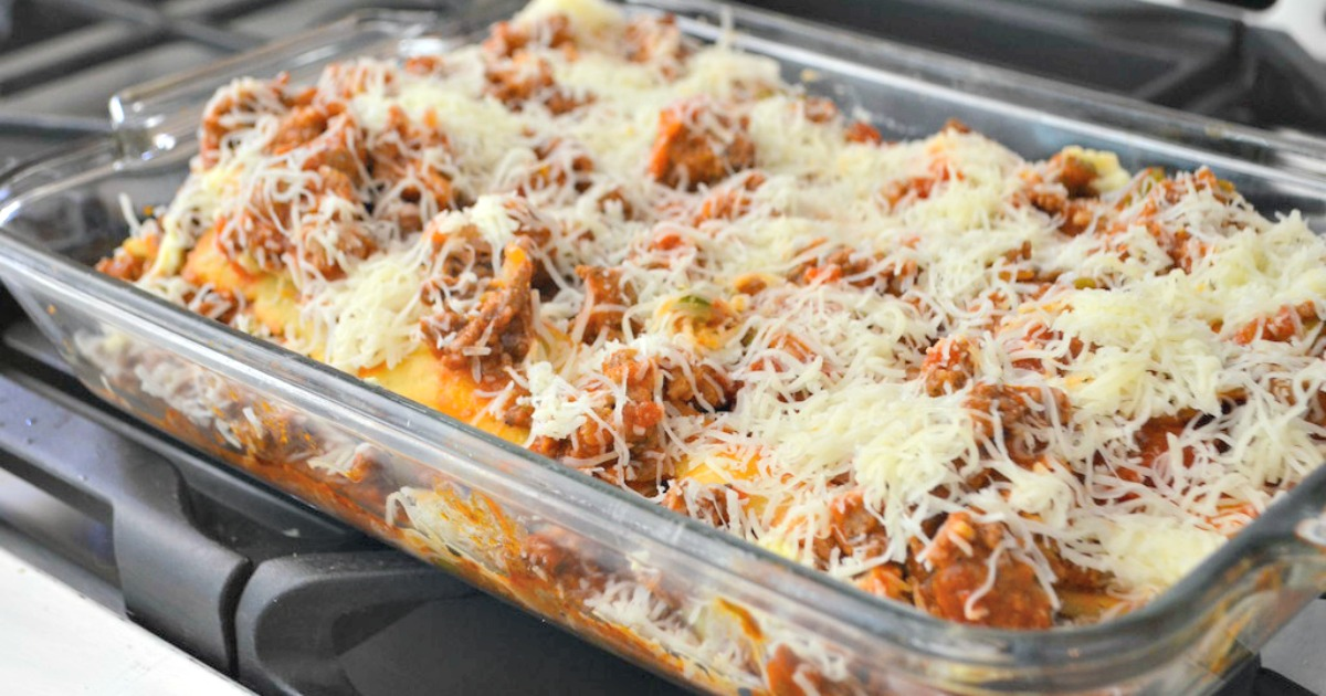 This Keto Lasagna Recipe Is Made With Fat Head Noodles