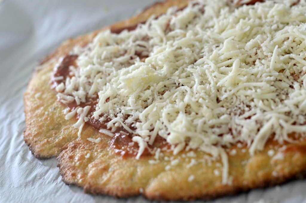fathead pizza dough baked