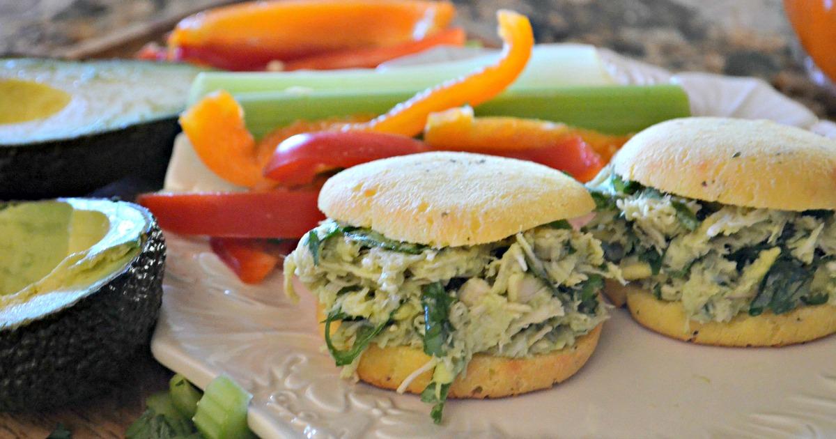 Avocado Chicken Salad (with Bonus Roll Recipe!)
