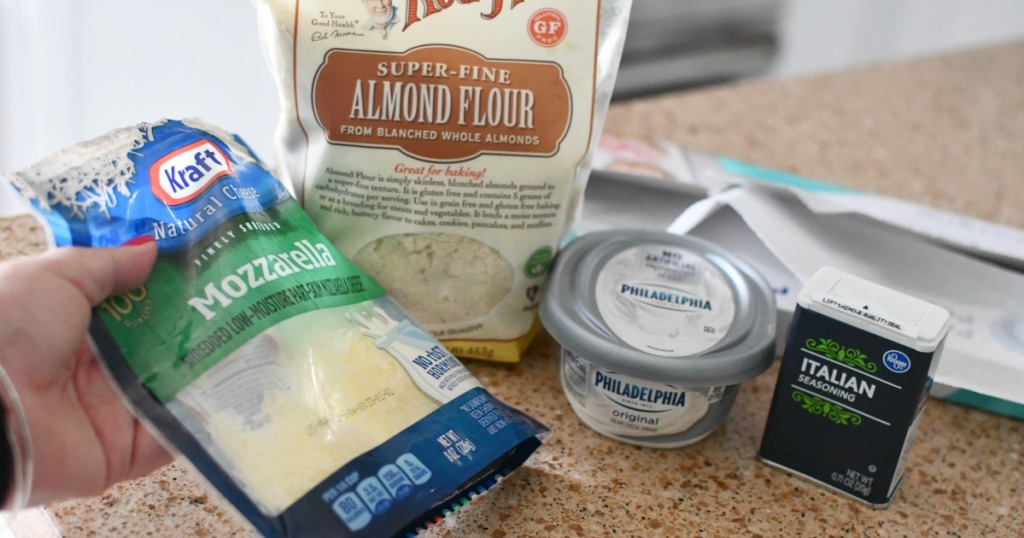 ingredients for fat head dough