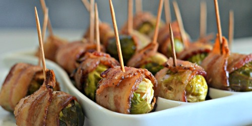 You've Got to Try These Bacon-Wrapped Brussels Sprouts
