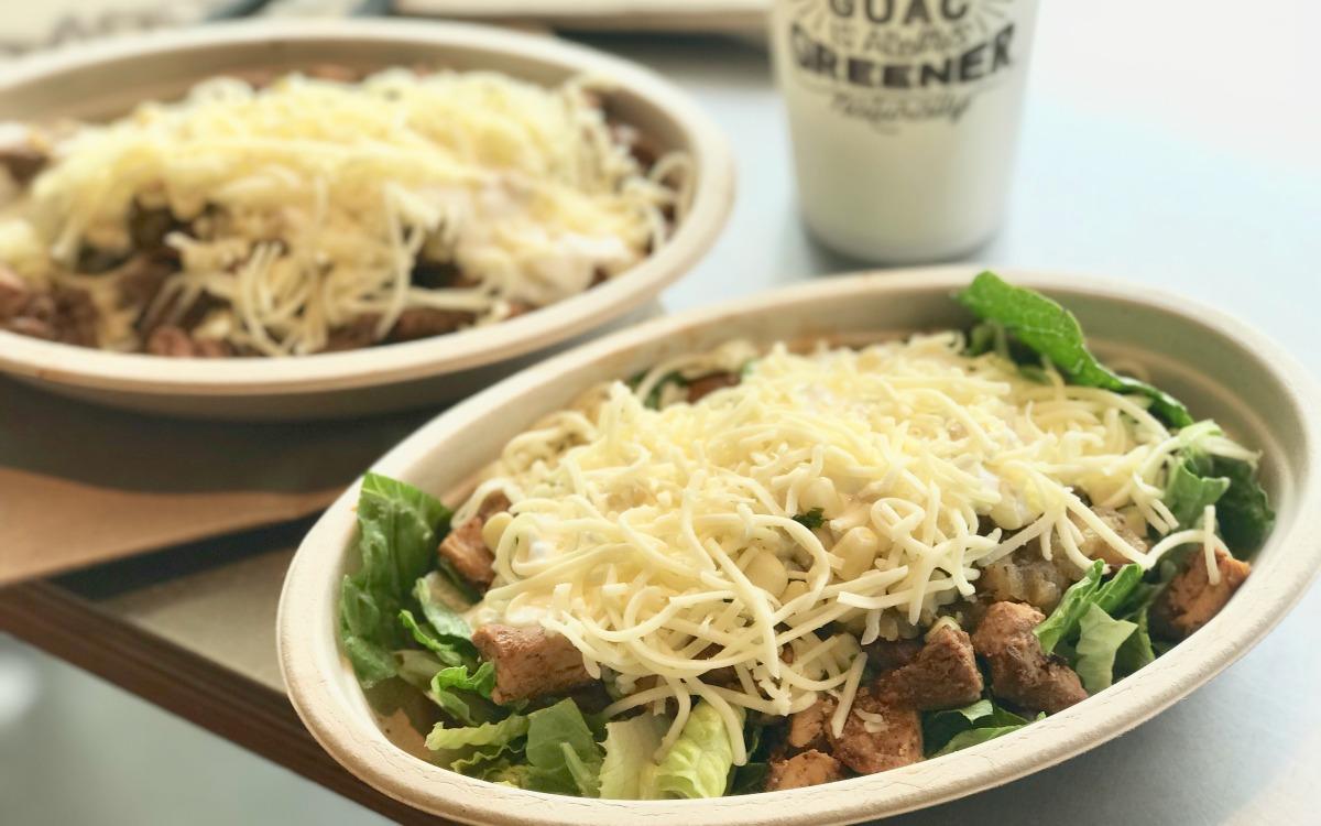 keto burrito bowl from chipotle