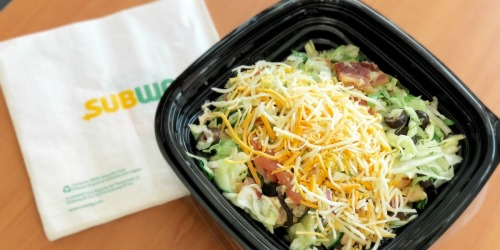 Hurry! Possible $5 Off ANY Purchase at Subway (Select PayPal Users)