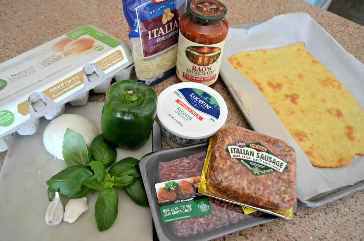 Keto Lasagna Ingredients