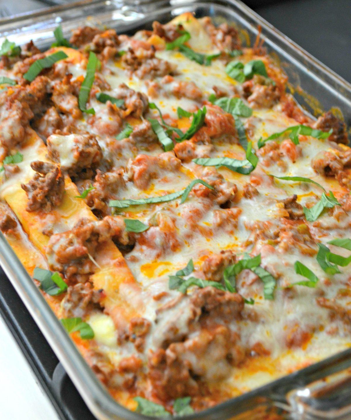 Low Carb Keto Lasagna