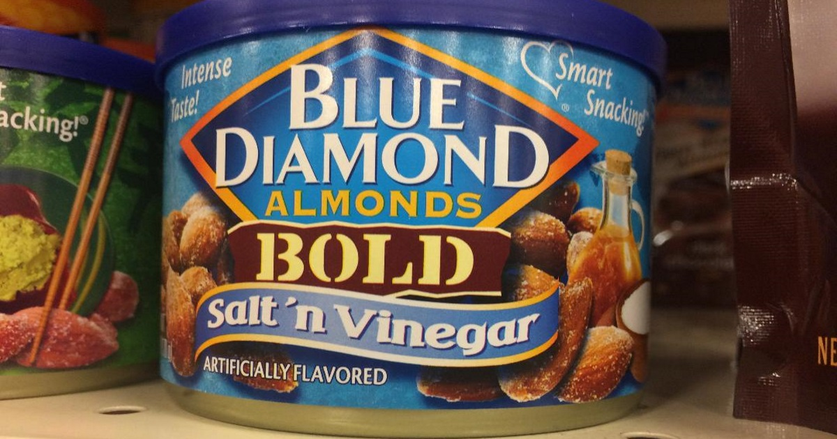 get a deal on blue diamond almonds - on the shelf at the store