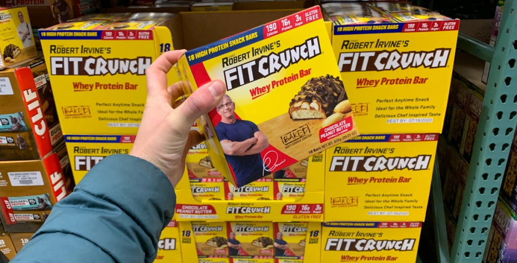 Fit Crunch bars at Costco