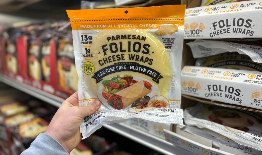 Parmesan Folios Cheese Wraps