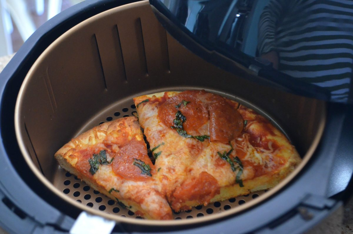 keto pizza in air fryer