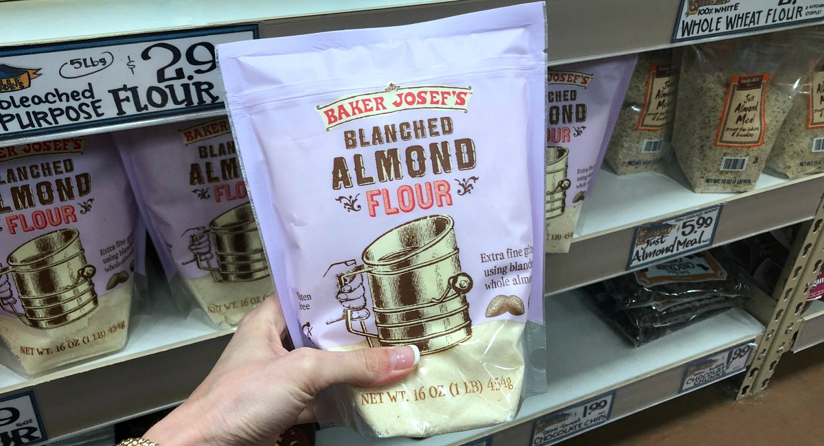 best trader joe's low carb food finds — almond flour