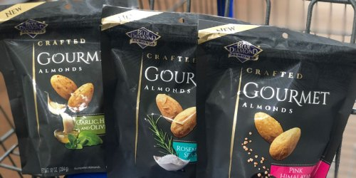 We Love Blue Diamond Gourmet Almonds (Score TWO Bags for Just $5 at Walgreens)