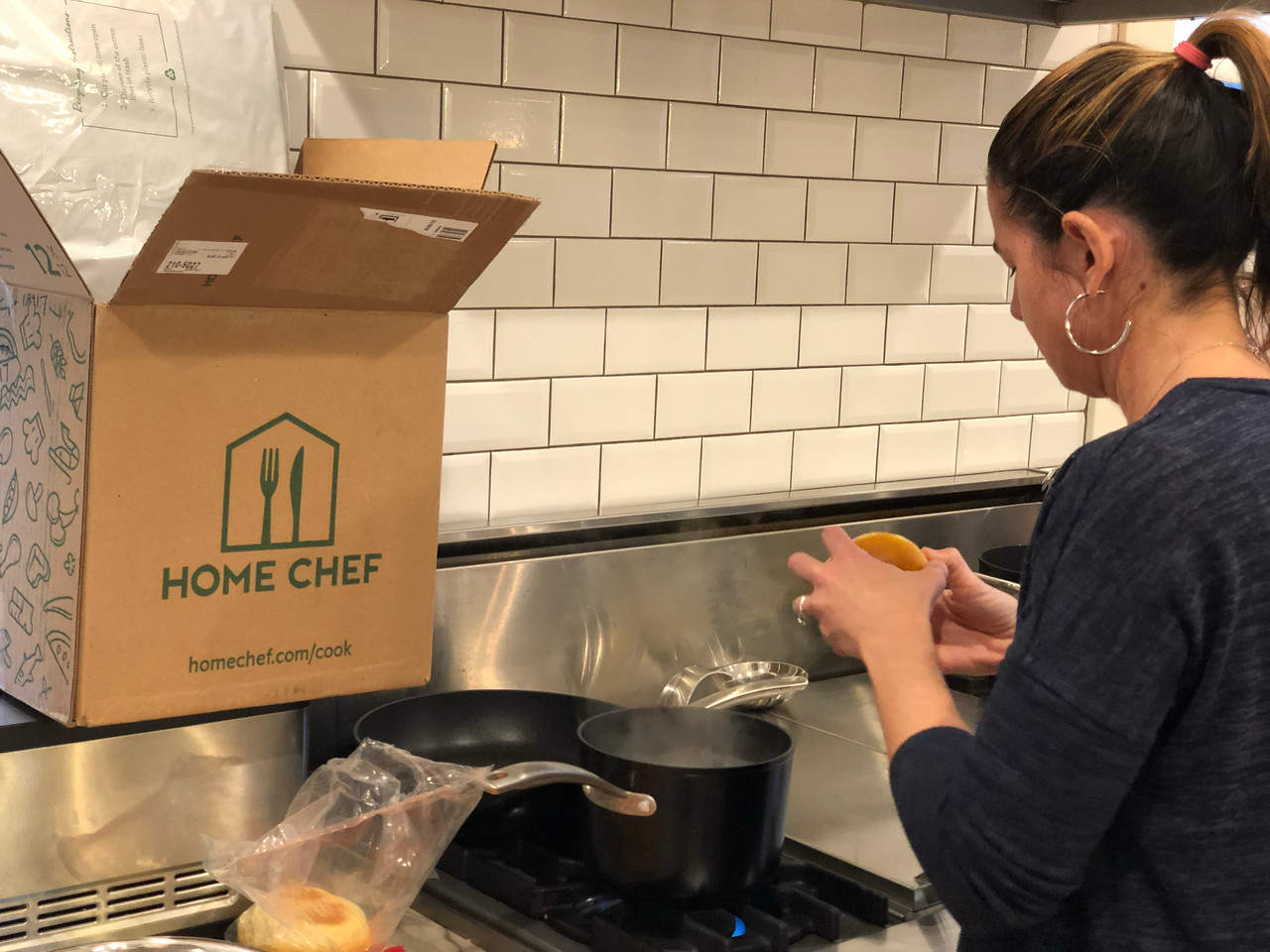 Low-carb Home Chef meal kit prep work is easy