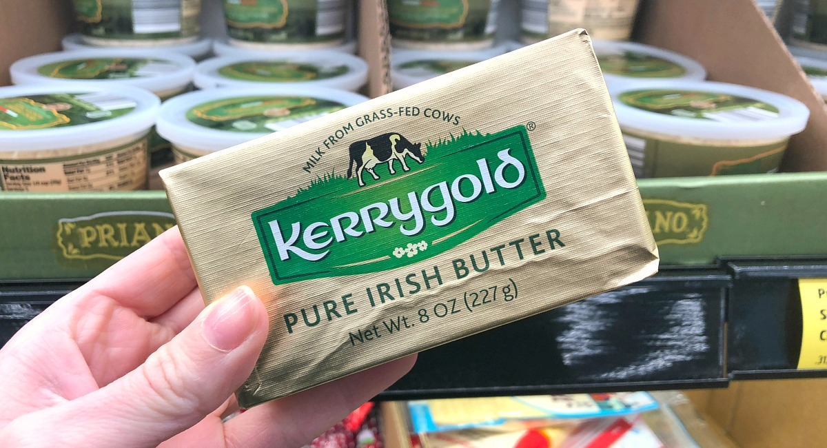 butter health benefits — kerrygold butter is great grass-fed butter