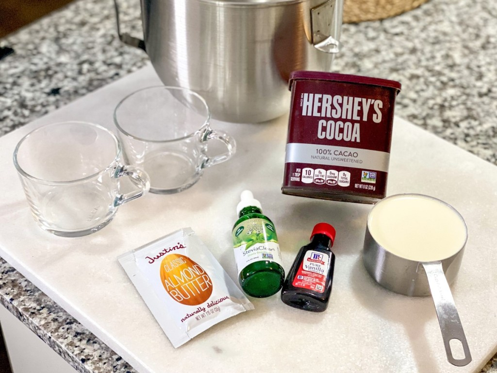 ingredients for keto Frosty copycat recipe