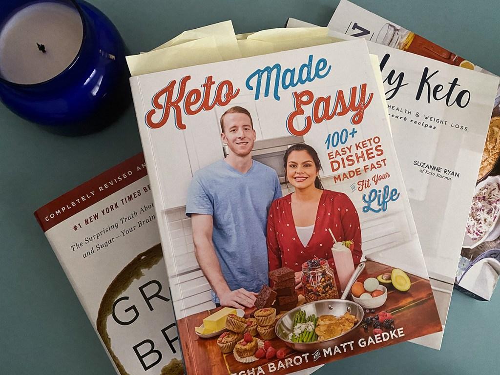 keto made easy book