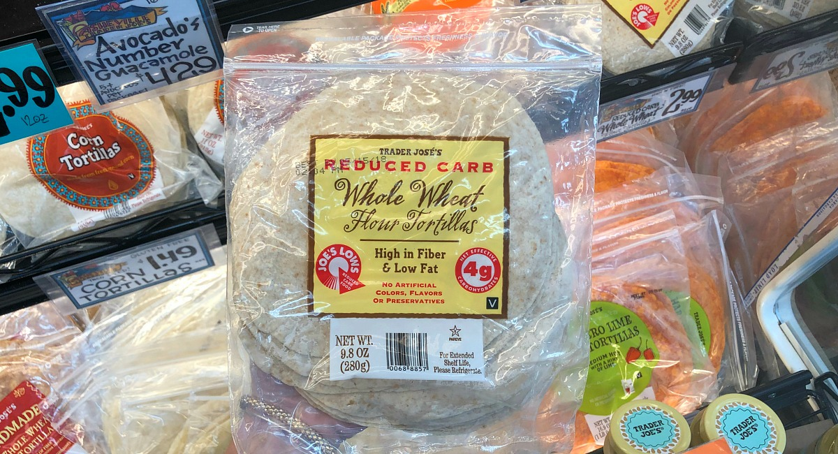 best trader joe's low carb food finds — low carb tortillas