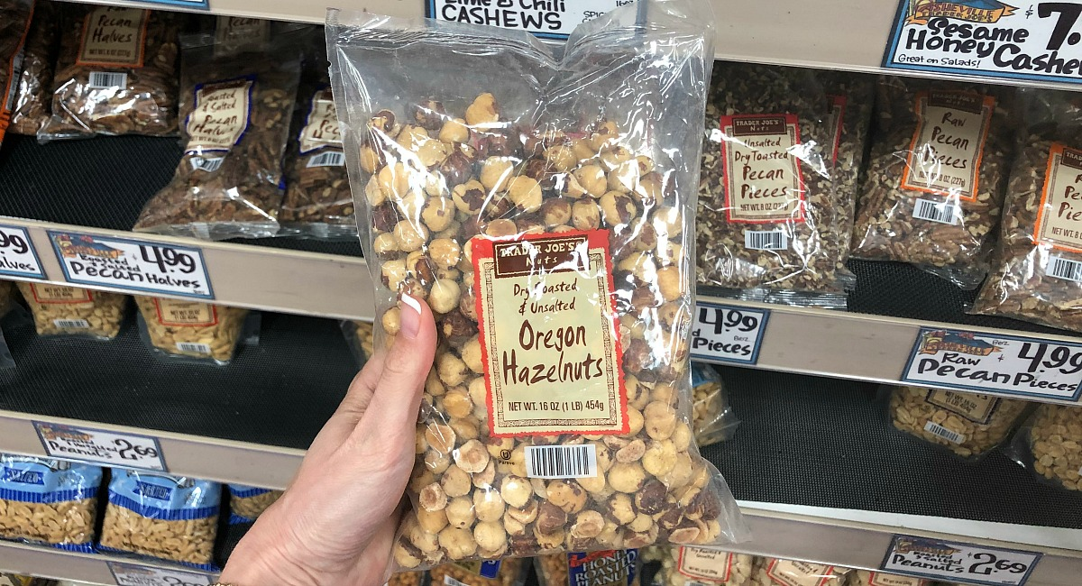 best trader joe's low carb food finds — oregon hazelnuts