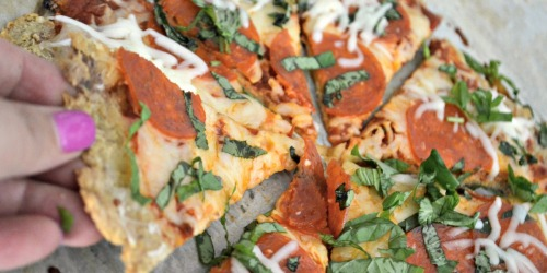 This Simple 3-Ingredient Chicken Pizza Crust is the Best