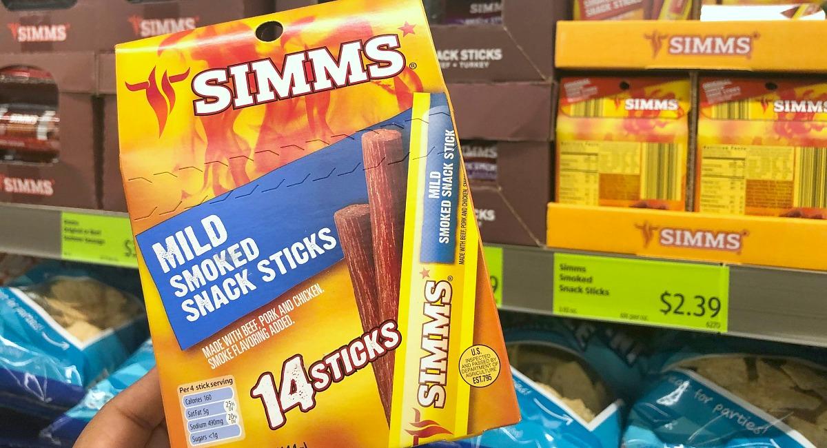 simms meat sticks at aldi