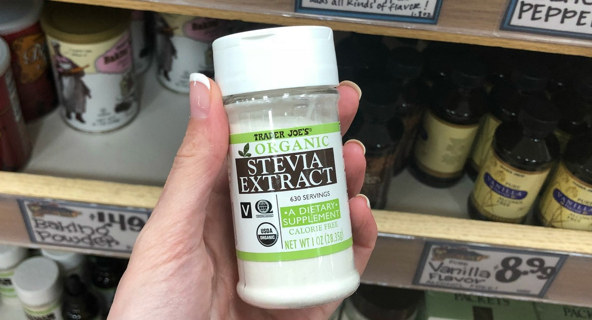 best trader joe's low carb food finds — organic stevia extract