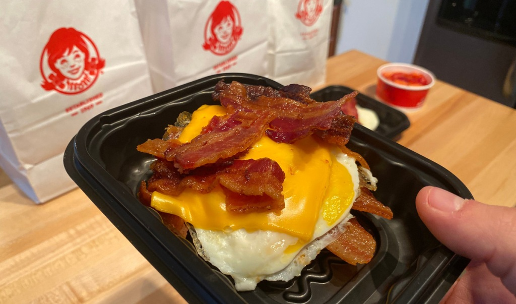 wendy's baconator breakfast