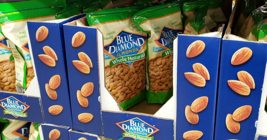 Blue Diamond Almonds at Sam's Club