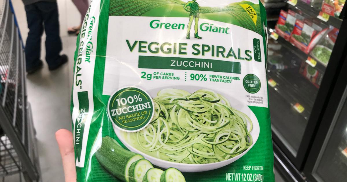 Green Giant Zucchini Spirals