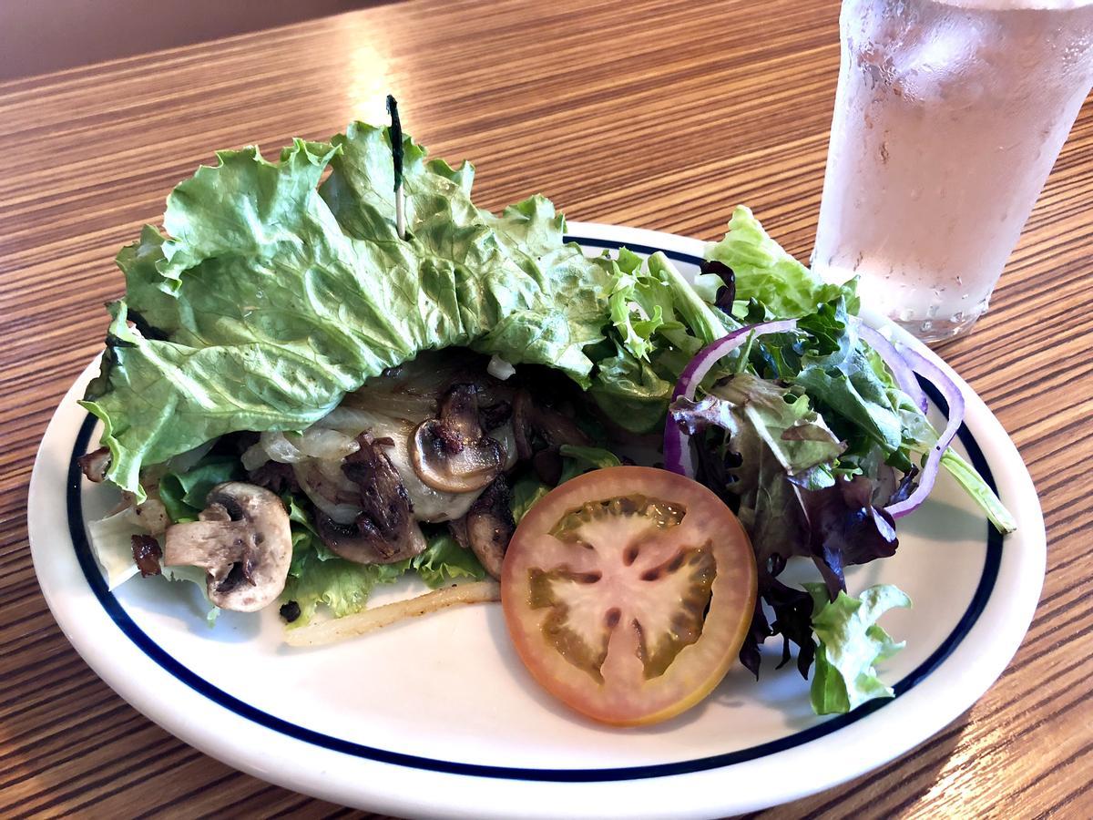 IHOb mushroom burger