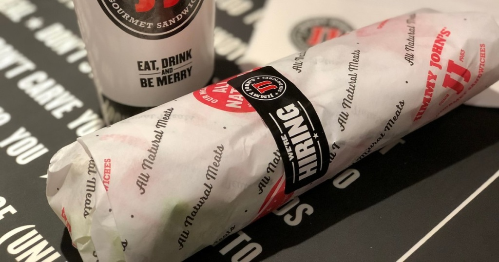 Jimmy Johns sandwich