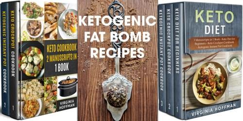 FREE Keto Kindle eBooks on Amazon (Cookbooks, Meal Plans, Diet Plans, & More)