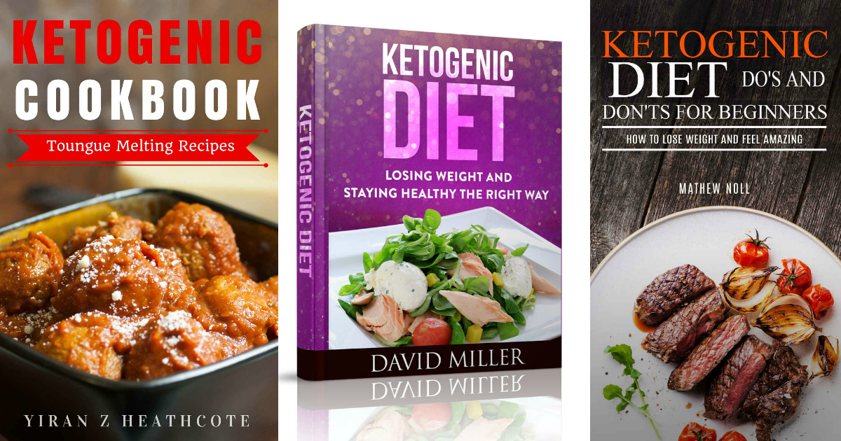 three free keto kindle ebooks on amazon