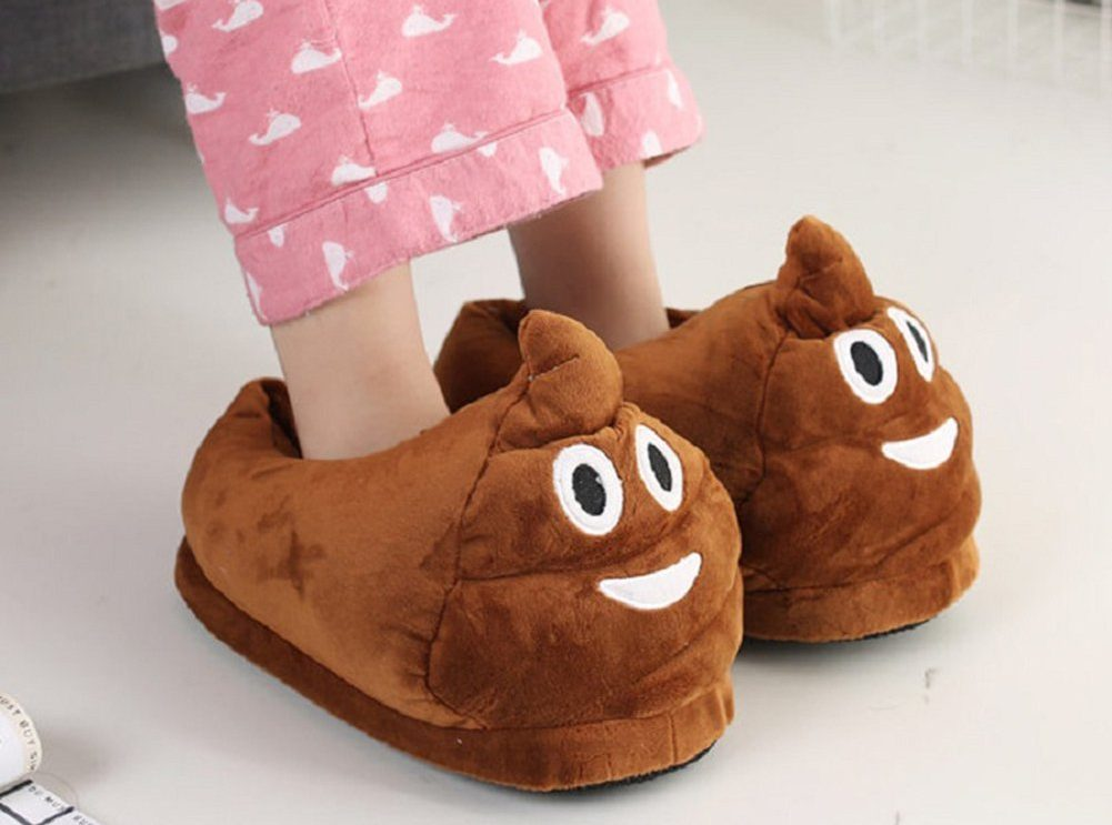 favorite poop related products - Poop Slippers
