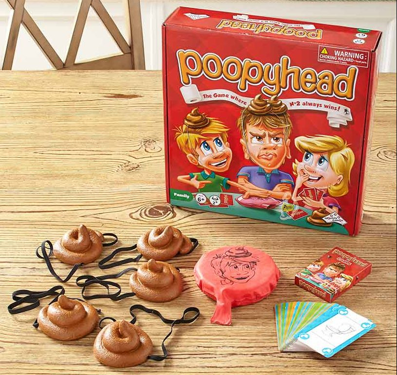 favorite poop related products - Poopyhead card game