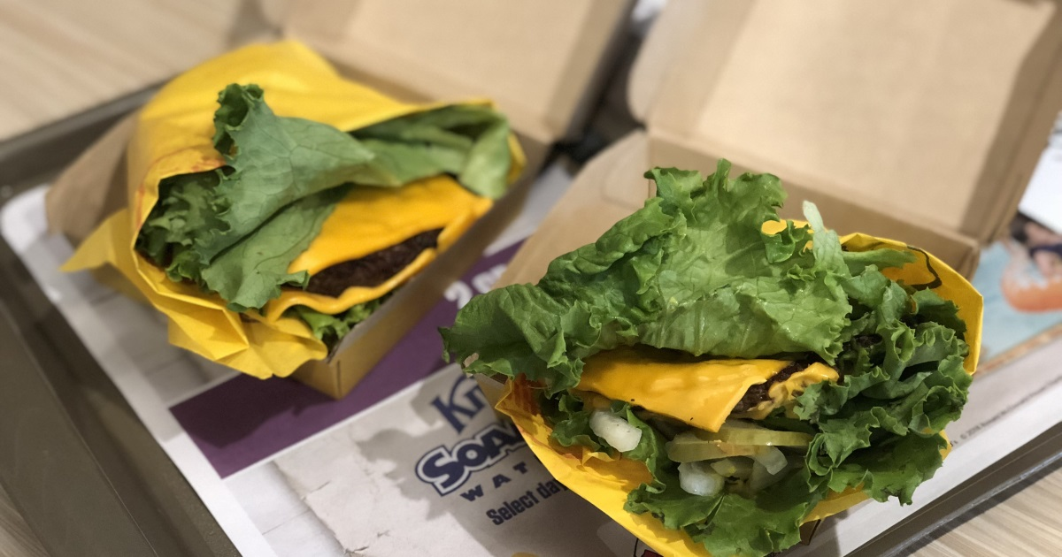 mcdonalds keto dining guide – Quarter Pounder with cheese, no buns