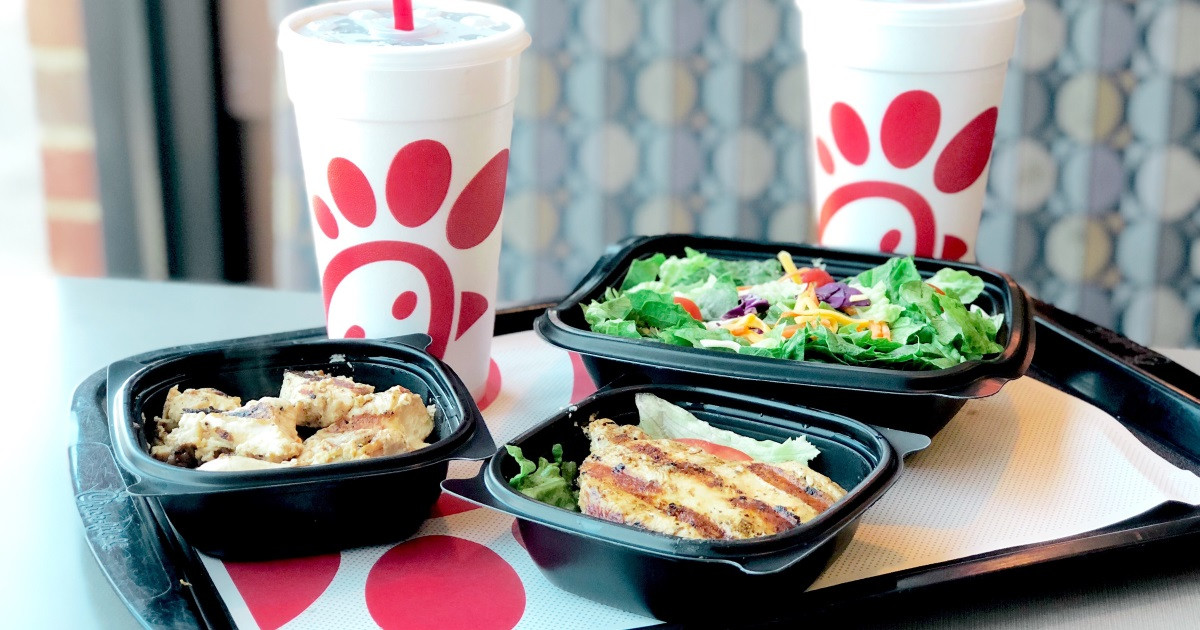 chick-fil-a keto eating out orders