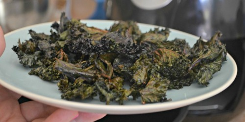 Get Your Snack On: Crunchy Keto Kale Chips Using the Air Fryer!