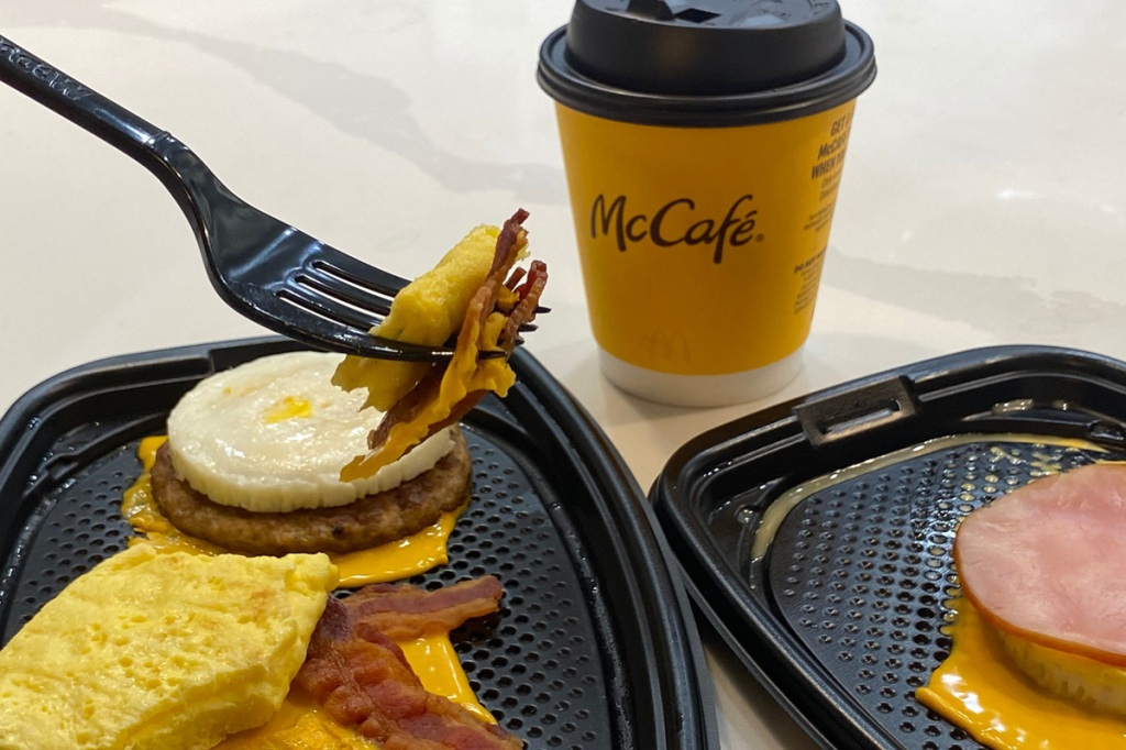mcdonalds keto breakfast