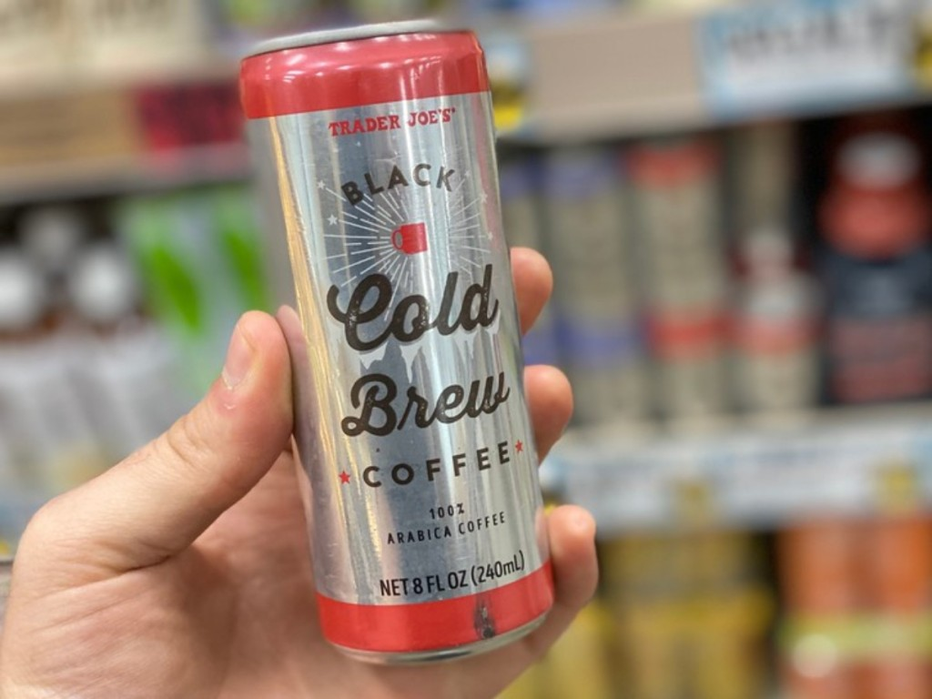 Trader Joe's Cold Brew in can