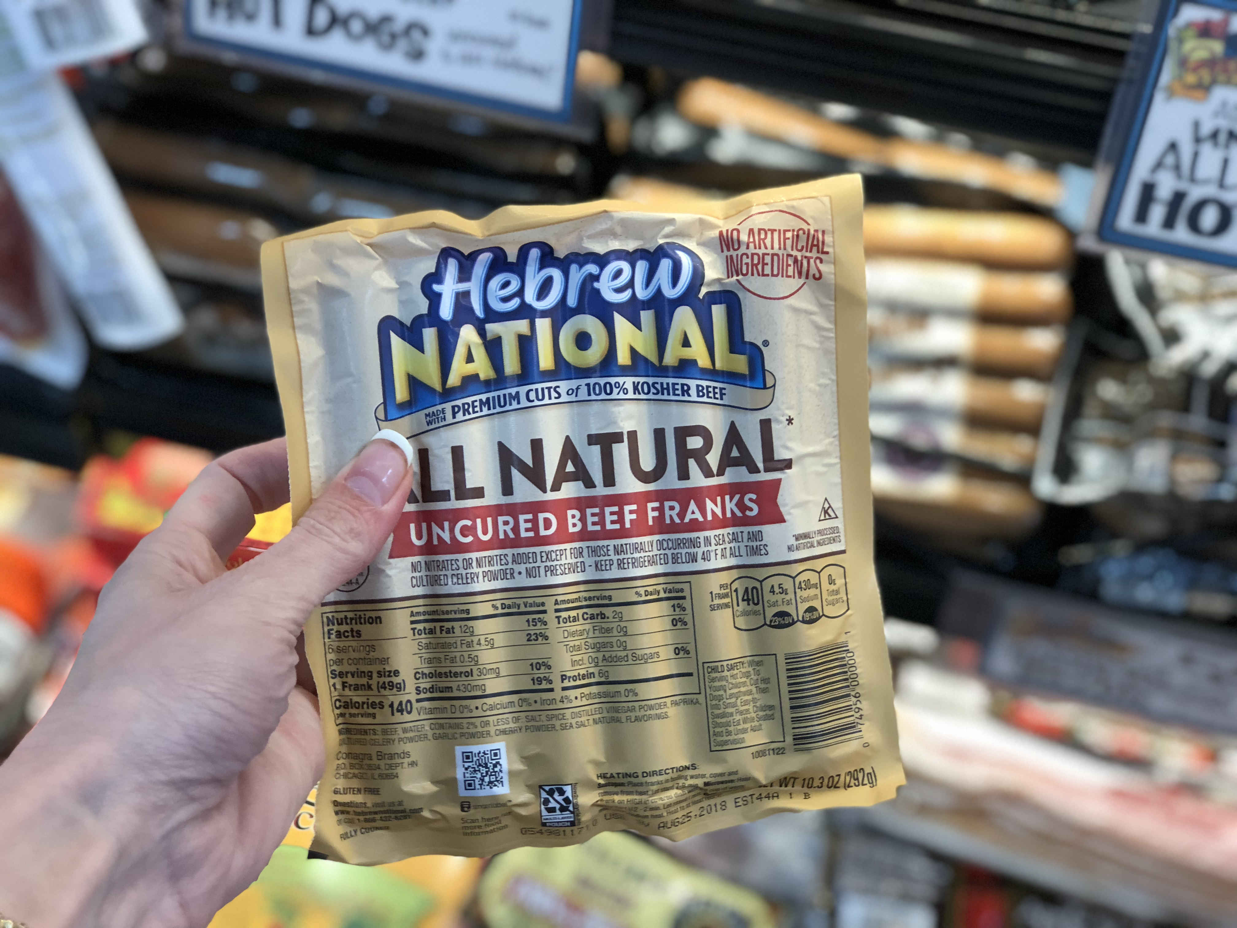 keto and low-carb hot dogs, sausages, and brats – Trader joes hebrew national franks