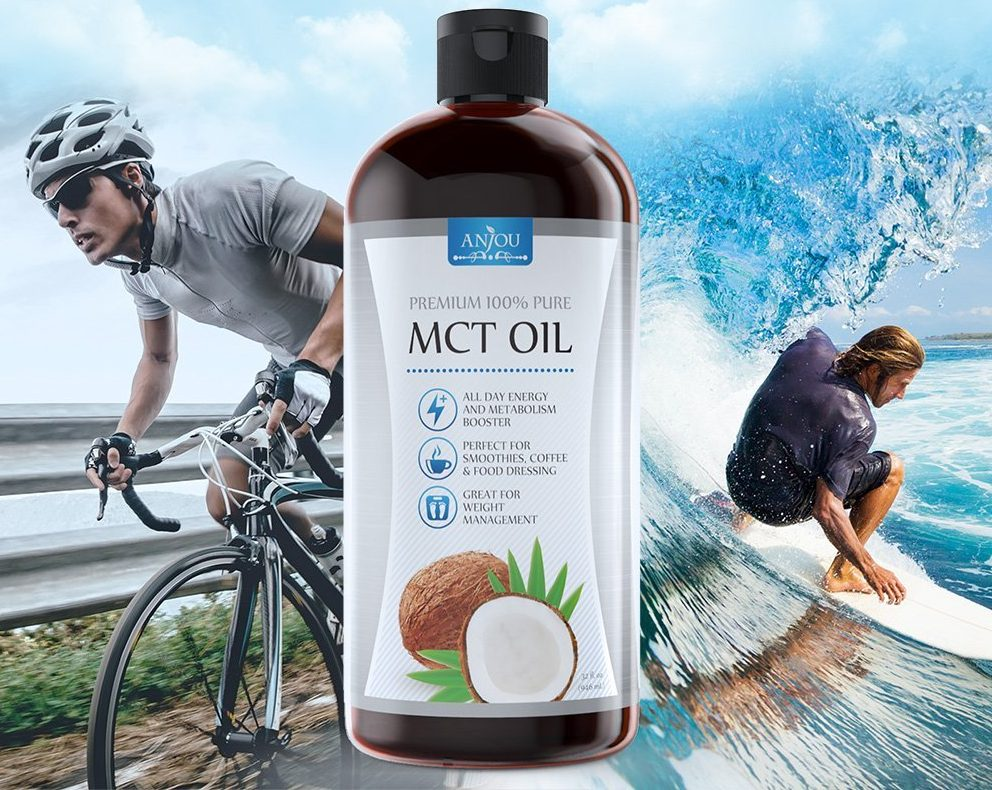 Anjou Oil helps boost performance in sports and more - Amazon deal premium MCT Anjou Oil