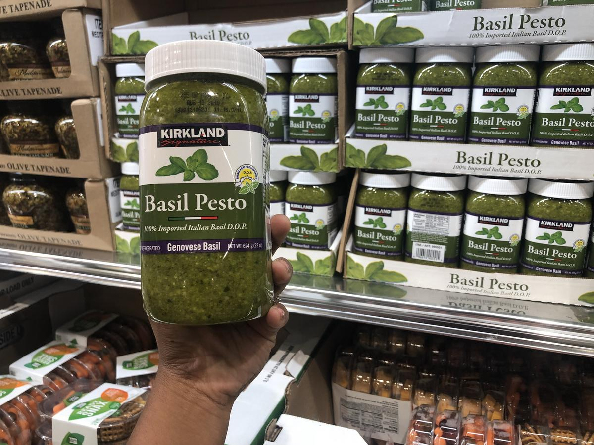 keto Costco Deals – Basil Pesto at Costco