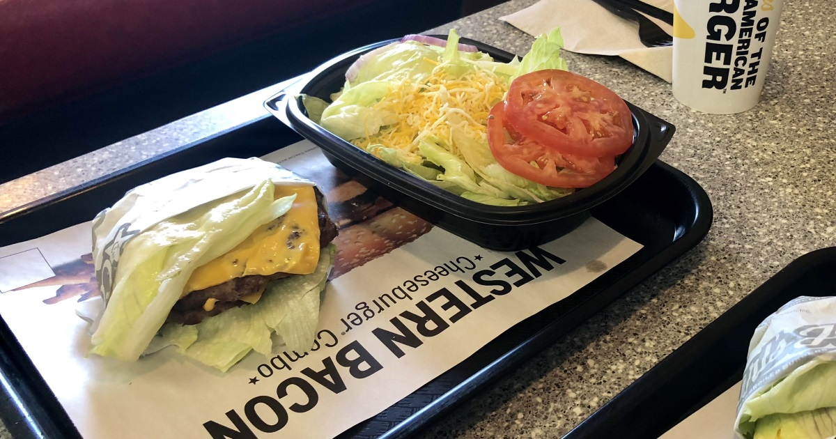 What to order at Carl's Jr. and Hardee's Dining Guide: A Big Carl with a side salad