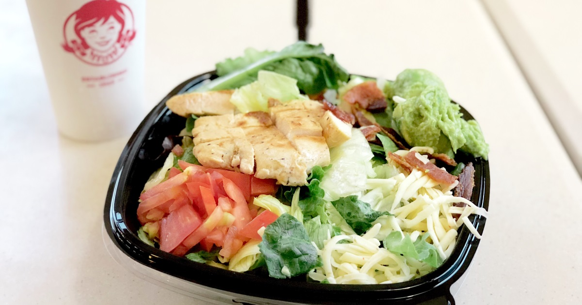 wendys keto dining guide – chicken salad