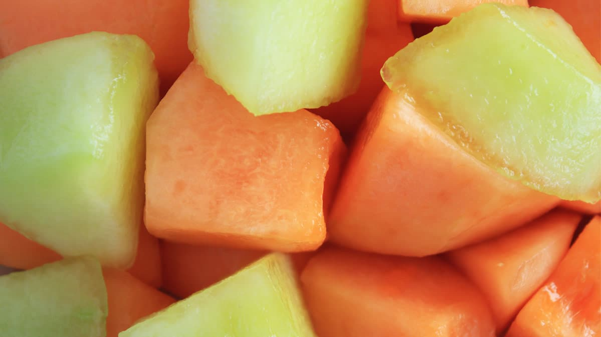 food recalls include raw turkey and McDonalds salads – Pictured here, melon